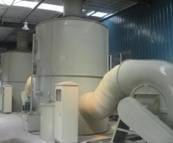 酸雾洗涤塔的工作原理及性能特点